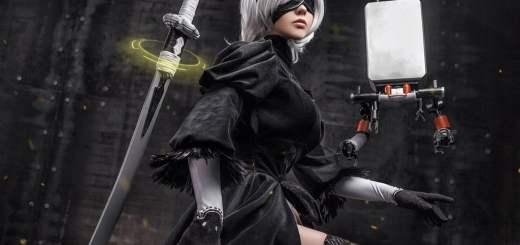 Un cosplay de 2B (Nier Automata) qui déchire !