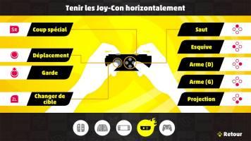 Contrôles de ARMS au Joycon