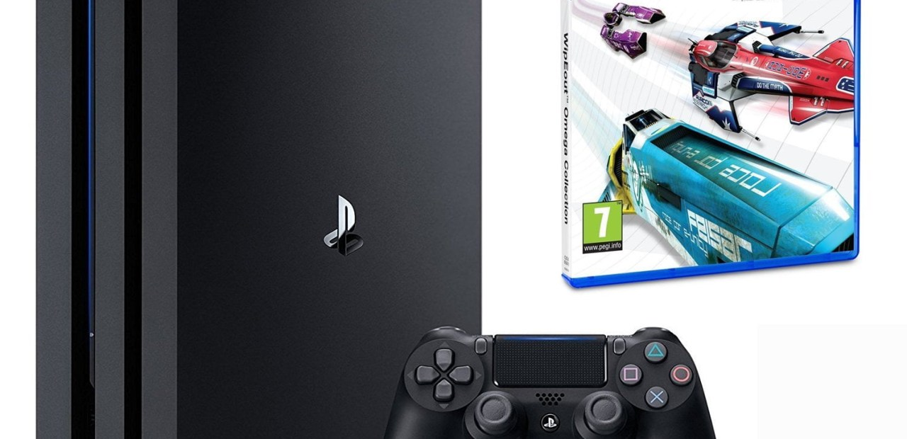 Une PS4 Pro + Wipeout Omega Collection pour moins de 400€ !
