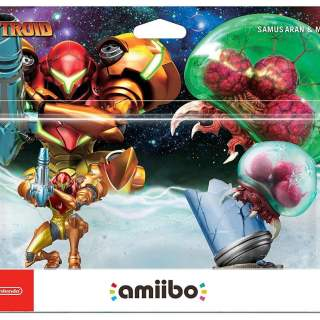 Packaging des Amiibo Samus & Metroid !
