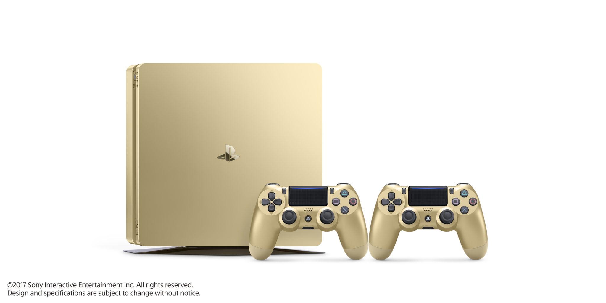 N'empêche, la PS4 couleur Or est plutôt sympa ^^ !