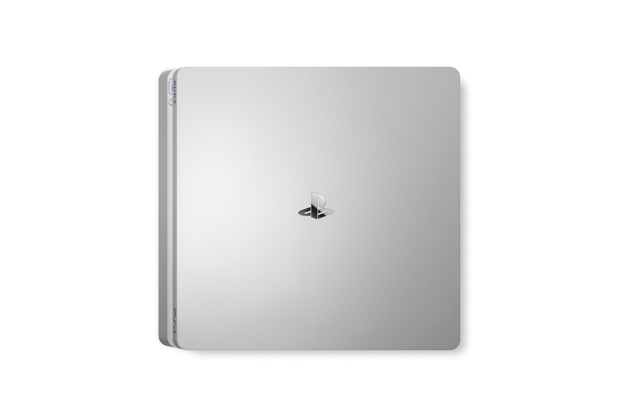 PS4 couleur Argent