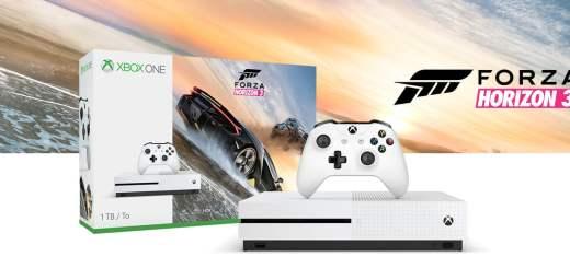La Xbox One + 3 jeux à 229€ (dont l'excellent Forza Horizon 3)