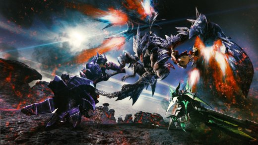 Monster Hunter XX sur Nintendo Switch