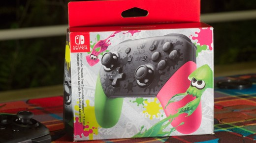Manette Pro Nintendo Switch Splatoon 2