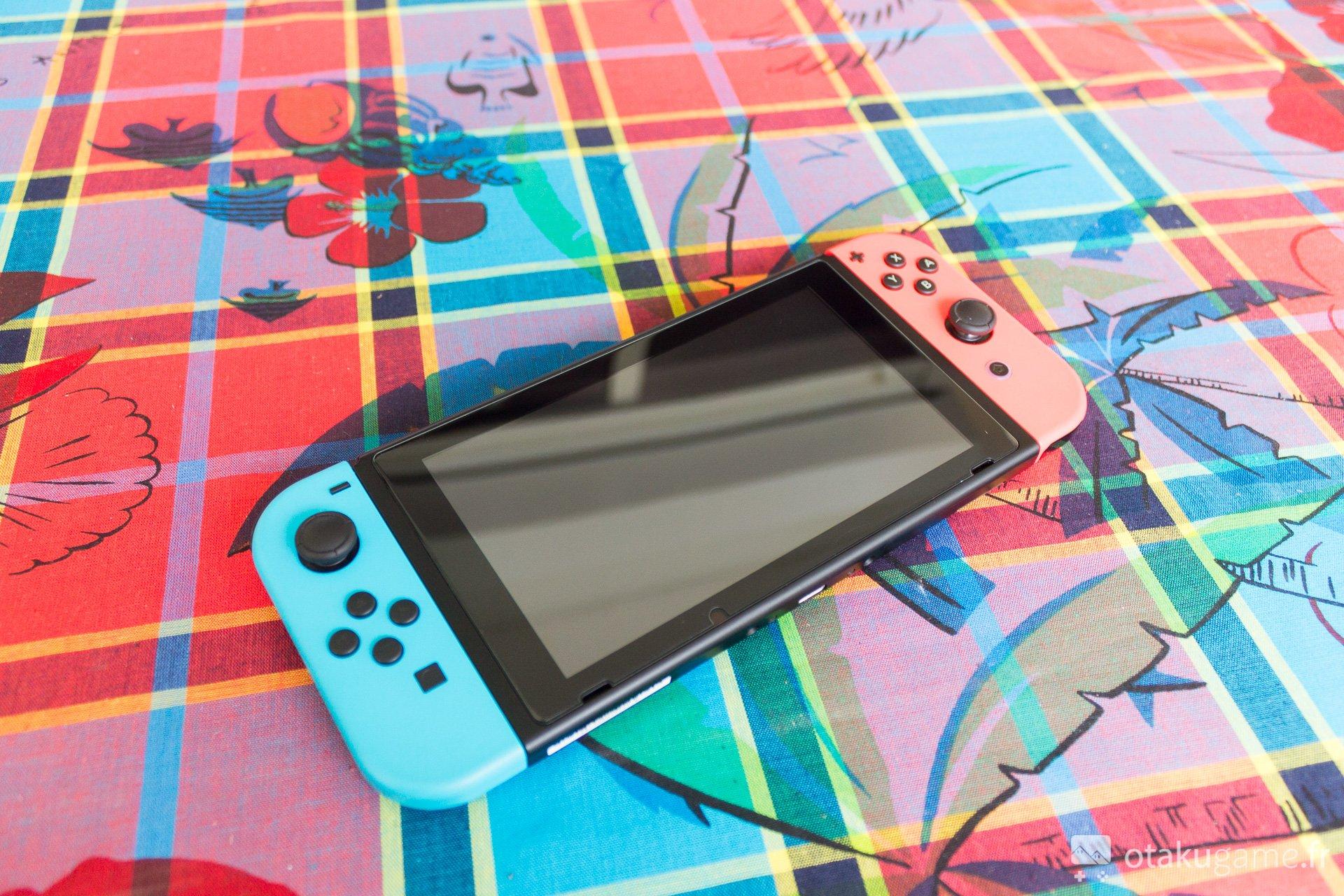 Et voilà à quoi ressemble notre Switch après coup !