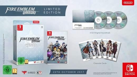 Le collector de Fire Emblem Warriors sur Nintendo Switch