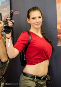Cosplay Tomb Raider Gamescom 2017