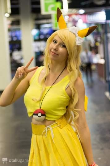 Cosplay Pikachu Gamescom 2017