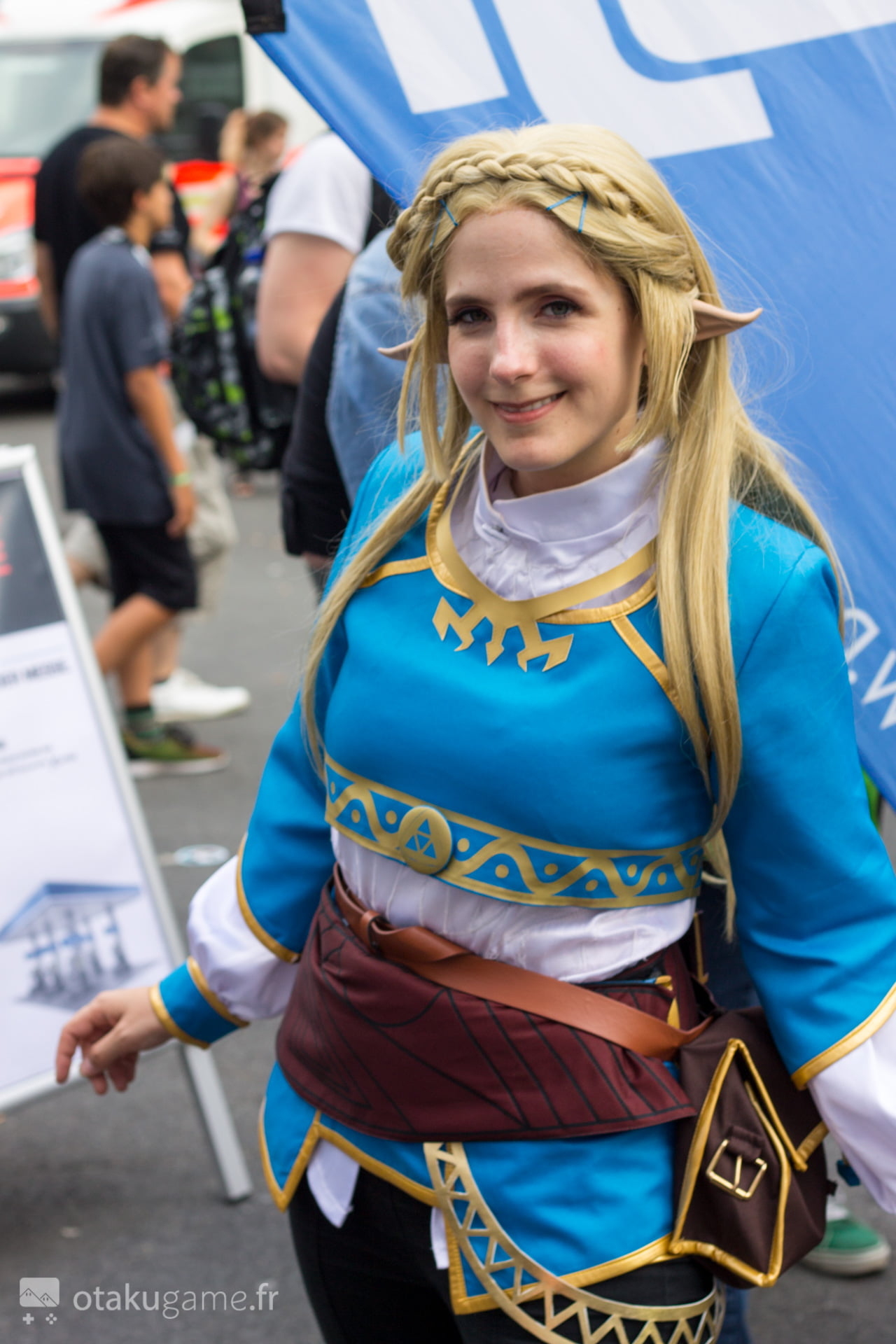 Cosplay Zelda Breath of The Wild Gamescom 2017