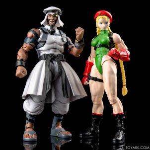 Figurine de Rashid & Cammy (Street Fighter V)