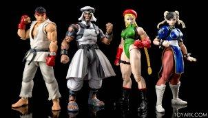 Rashid & Cammy & Ryu & Chunli