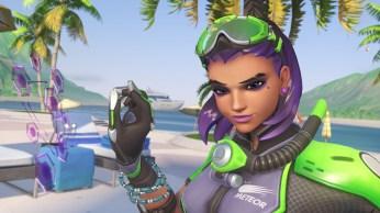 Sombra - Fond d'écran Overwatch jeux d'été 2017 (35)