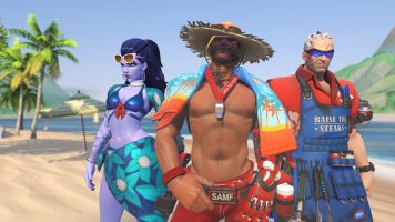 Wallpaper des jeux d'été Overwatch