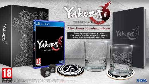 Edition collector de Yakuza 6 en France