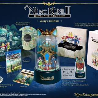 L'édition collector de Ni No Kuni II !