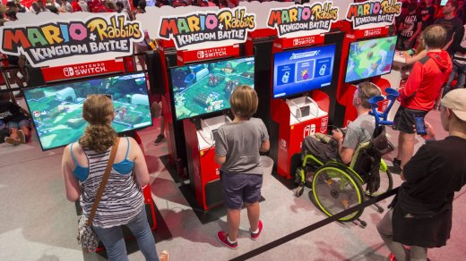 Stand: Nintendo, Halle 9