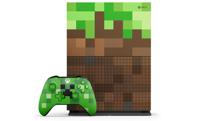 Xbox One collector Minecraft