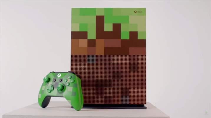 Xbox One collector Minecraft