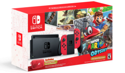 Bundle Switch Mario Odyssey