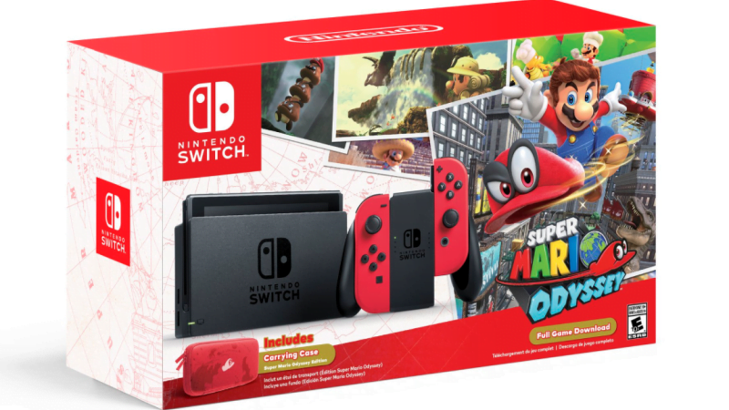Bundle Switch Mario Odyssey