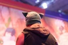 Un joueur à la Gamescom 2017
