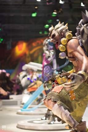 Gamescom 2017 Stand Blizzard