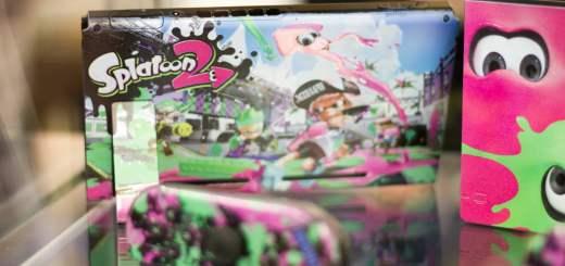 Cette Nintendo Switch Splatoon est bien meilleure que celle dans le commerce, non ?
