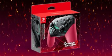 La Manette Collector Pro Switch Xenoblade Chronicles 2 !