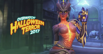 Skin de Symmetra Halloween 2017