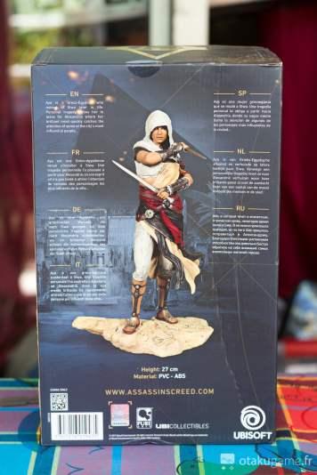 Boîte de la figurine d'Aya d'Asssassin's Creed Origins