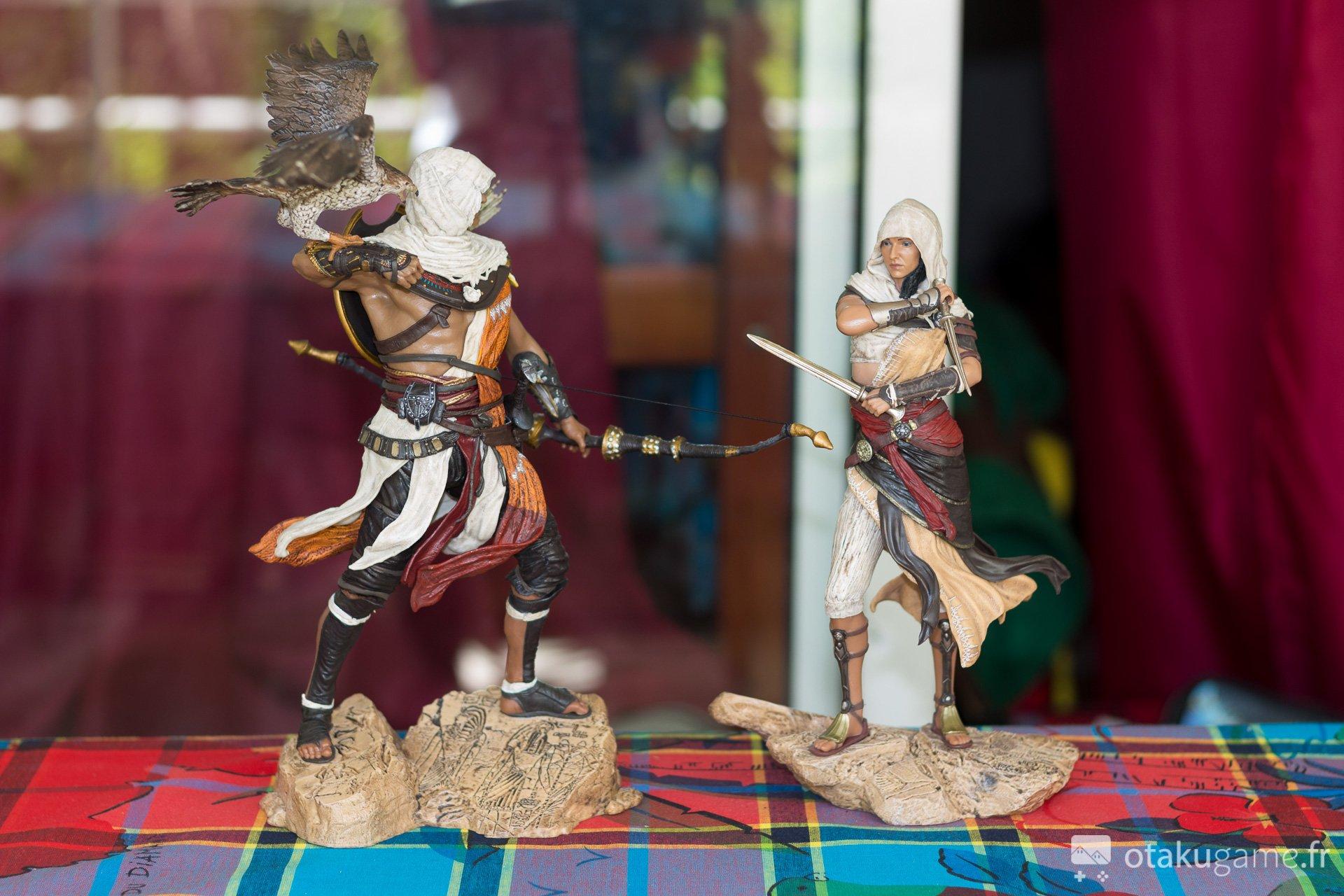 Figurine de Bayek et de Aya (Assassin's Creed Origins)