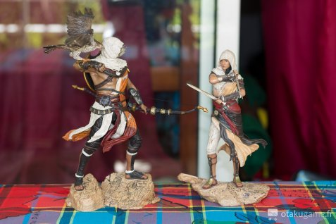 Figurine de Bayek et de Aya (Assassin's Creed Origins)