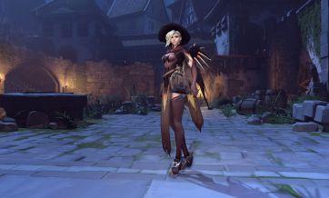 Skin Overwatch Halloween Mercy
