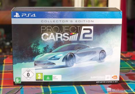 Unboxing de l'édition collector de Project Cars 2 !