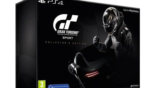 Gran Turismo Sport dans son édition collector, en promotion !