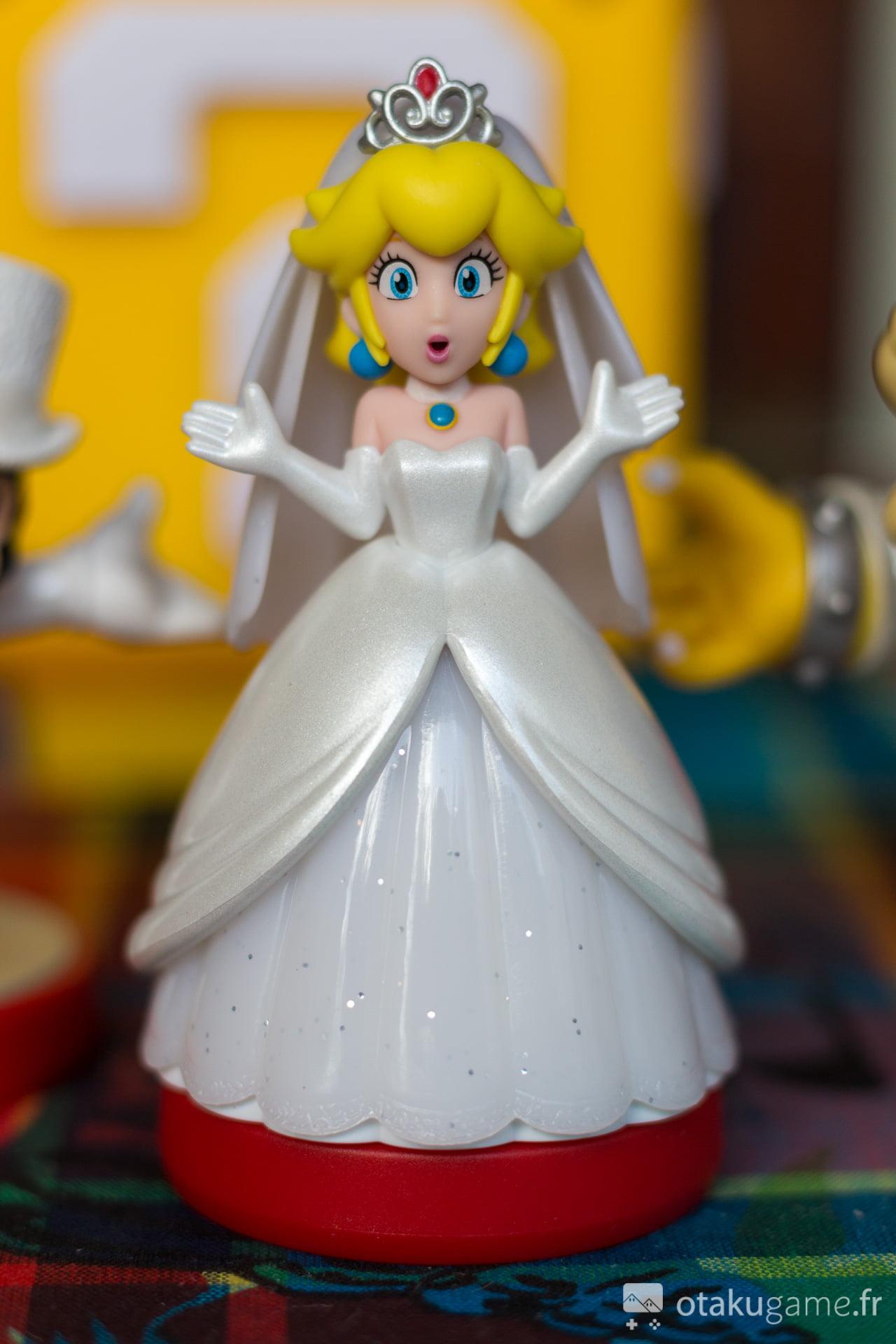 Amiibo Peach tenue de mariée