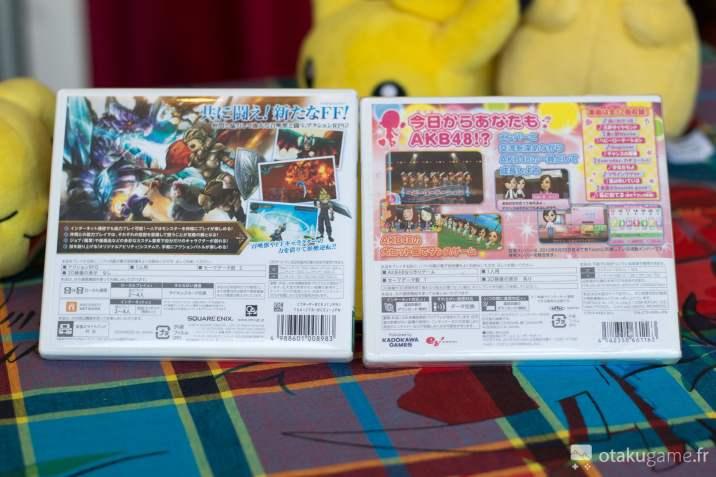 Final Fantasy Explorer et AKB48 en japonais !