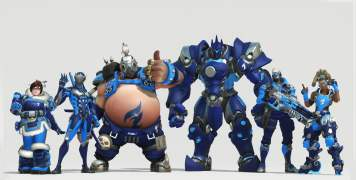 Skins Overwatch Dallas Fuel