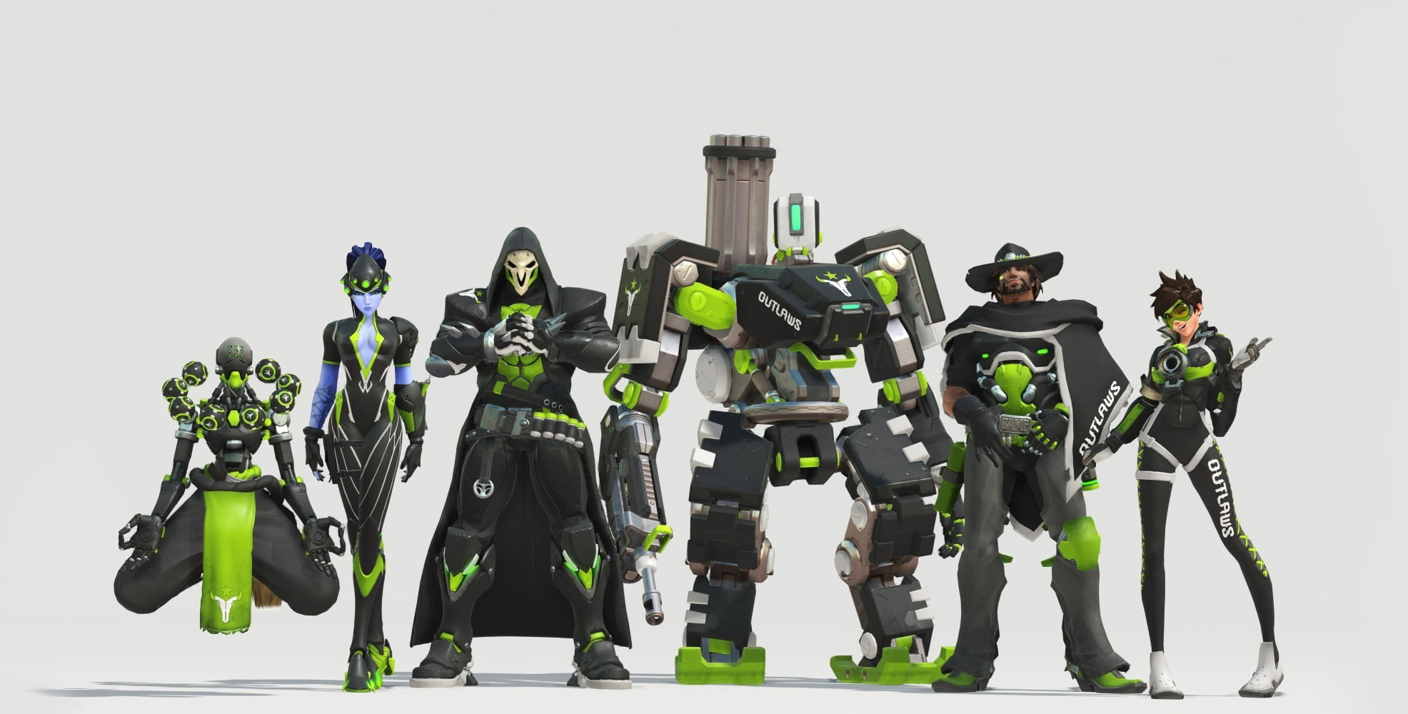 Skins Overwatch Houston Outlaws