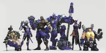 Skins Overwatch Los Angeles Gladiators