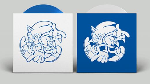 Les vinyles de Sonic Adventures sont vraiment classes !