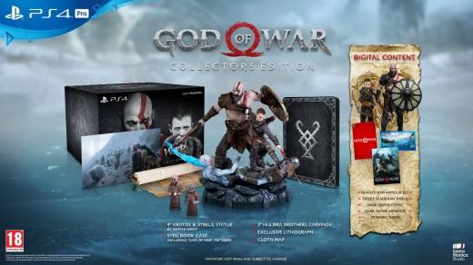 God of War 4 édition collector