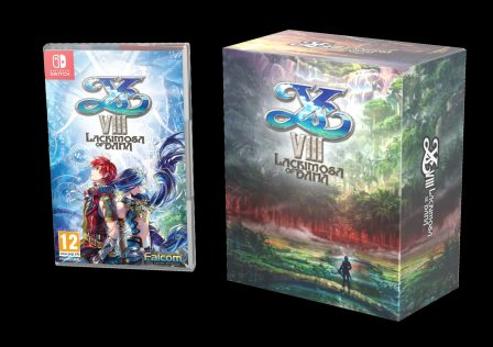 L'édition collector de YS VIII sur Nintendo Switch !