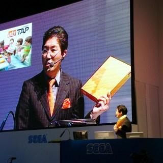 Yuji Naka au Tokyo Game Show de 2008 !