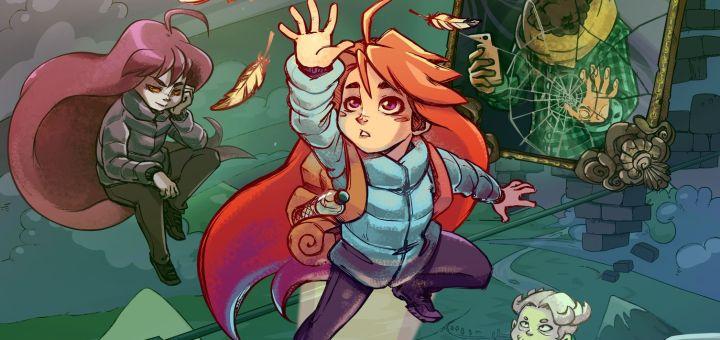 Voici Madeline, qu'il faudra aider à grimper sur sa montagne !