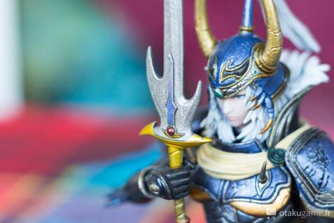 """Figurine """"Buste"""" du chevalier de la lumière de Final Fantasy I"""