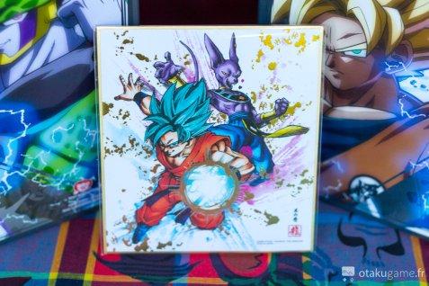 Les illustrations inclus dans le collector de DB FighterZ