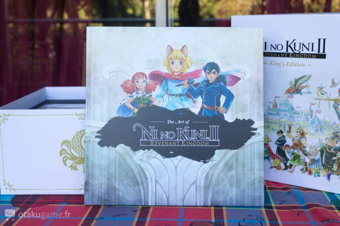 Artbook de Ni No Kuni II
