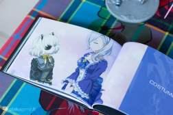 Artbook de Sword Art Online Fatal Bullet